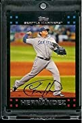2007 Topps Felix Hernandez Seattle Mariners #435 MLB Baseball Trading Card Card is in NM-MT Condition or Better A Single Card is shipped in a Top Load and/or Soft Sleeve Look of singles from the set, collect all your favorite players NOTE: Stock Imag...