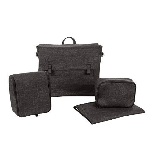 Maxi Cosi Modern Bagpraktische Wickeltasche mit vielen extras, Thermobox, Wickelunterlage, Thermobox, Kulturtasche, Baby-Tasche, Windel-Tasche, nomad black
