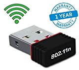 300 Mbps USB 2.0 Wireless WiFi Network Adapter Dongle Receiver 2.4Ghz 802.11B/G/N