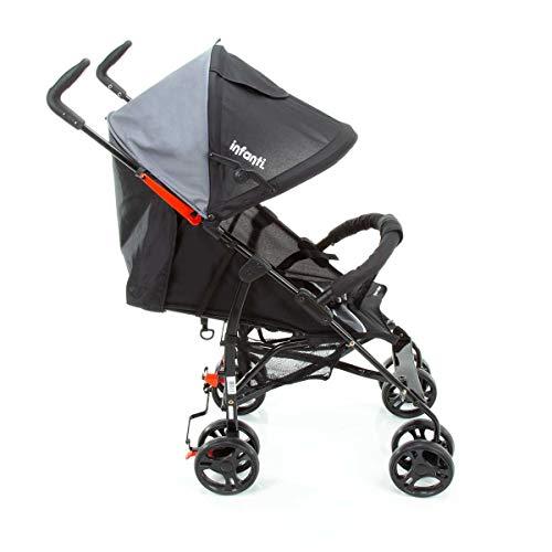 Carrinho Para Bebê Umbrella Spin Neo Red Black Frame - Infanti