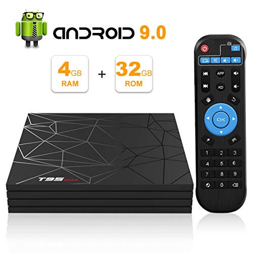 Android TV Box, Android 9.0 TV BOX 4 GB RAM 32 GB...