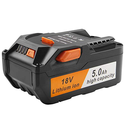 18V 5000mAh/5.0Ah Battery Compatible with for RIDGID R840083 R840085 R840086 R840087 R840089 AC840085 AC840086 AC840087P AC840089 Series Drill Battery