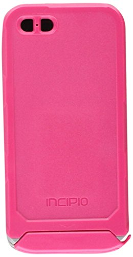 Incipio Cell Phone Case for iPhone 5/5s - Retail Packaging - Pink/Dark Gray