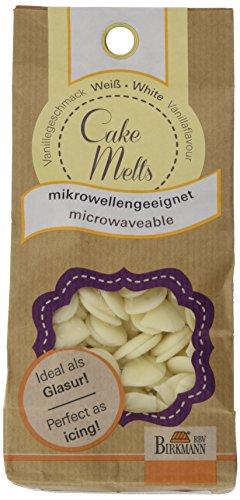 Birkmann RBV, 504202, Cake Melts, weiß, 250 g Beutel, 17x8x5 cm