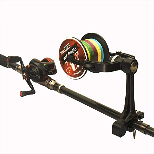 Fishcm Fishing Line Winder Spooler Machine Spinning Reel Spool Spooling Adjustable for Varying Spool...