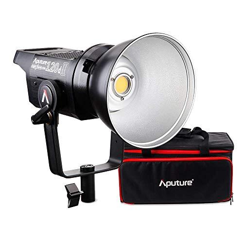 Aputure 120D Mark 2 120D II LED 30,000 Lux @ 0.5m 5500k DMXサポート 撮影用ライト LED定常光ビデオライト アップグレード版 (120D II)