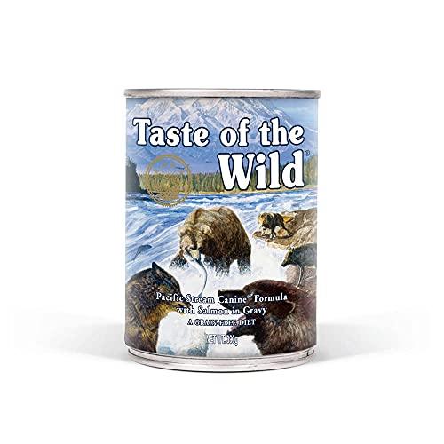 Taste Of The Wild Alimentacion Humeda con Salmon pack de 12 x390 gr Pacific Stream