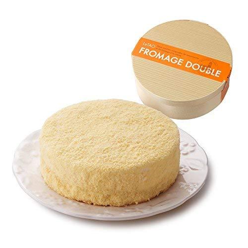LeTAO(ルタオ) バレンタイン ケーキ チーズケーキ ドゥーブルフロマージュ ホール 4号(2~3人分)