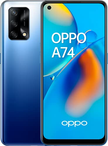 OPPO A74 - Pantalla 6,43'(AMOLED FHD+, 6 GB RAM+ 128 GB...