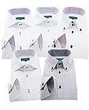 GREENWICH POLO CLUB(グリニッジポロクラブ) 長袖ワイシャツ 5枚セット メンズ pf 022-M