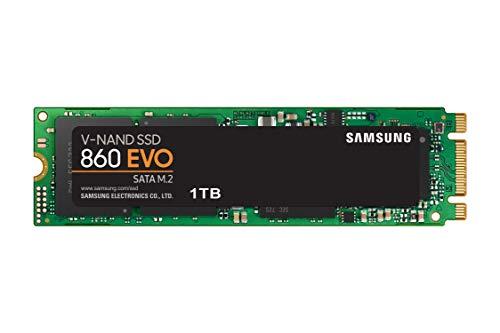 Samsung Memorie MZ-N6E1T0 860 EVO SSD Interno da 1...