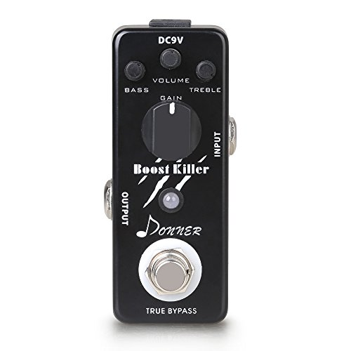 Donner Boost Killer Effect Pedal Mini Compact Size True Bypass
