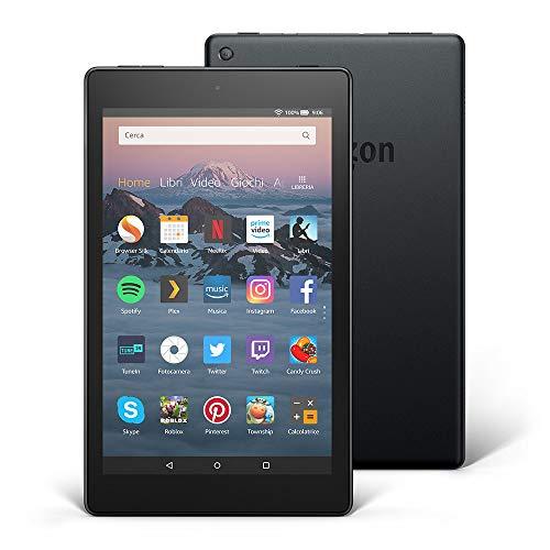 Tablet Fire HD 8 | Schermo HD da 8, 32 GB, nero - senza offerte speciali