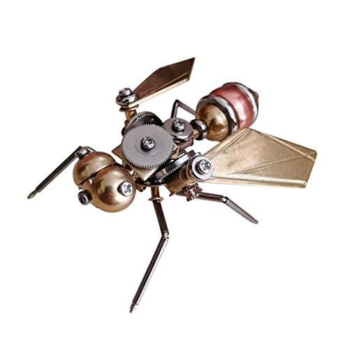 YDDY 3D Metal Puzzle Insect Series 3D Metal Fly Model Kits for Adult - Assembled Steampunk Model (Kitchen & Home)