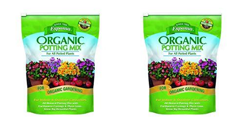 Espoma AP8 8-Quart Organic Potting Mix - 2 Pack