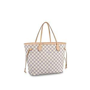 Louis Vuitton Neverfull MM Damier Azur Bags Handbags Purse 23