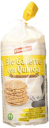 Fiorentini - Gallette di mais con quinoa da agricoltua biologica - 12 confezioni da 120 Grammi