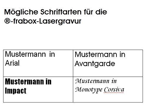 Frabox® Design Briefkasten NAMUR anthrazitgrau RAL 7016 mit Zeitungsfach & Namensgravur - 3