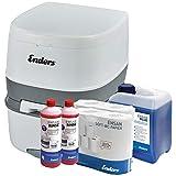Enders WC Chimique Portable - Kit de démarrage Blue 5,0 Supreme avec Produit additif et Papier...