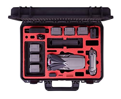 MC-CASES Valigia professionale per il DJI Mavic 2 Pro & Zoom con abbondanza di spazio - Valigia Edizione Explorer - Si adatta anche con DJI Smart Controller