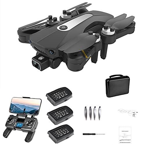 LiLong K80 PRO GPS 4K Dual ESC Camera Drone con motore Brushless, 5G WiFi FPV Drone con funzione Follow Me, Drone professionale per adulti, 60 minuti di volo con 3 batterie