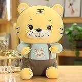 Peluches 30cm Tigre Juguetes De Peluche Kawaii Mascot Dolls Correa De Peluche Pareja Tigre Almohada para Niños Bebé Cumpleaños Decoración Regalos
