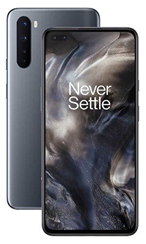 Teléfono OnePlus NORD (5G) 8GB RAM 128GB, Cámara Cuádruple, Dual SIM. Ahora con Alexa - 2 Años de Garantía - Gris Onix