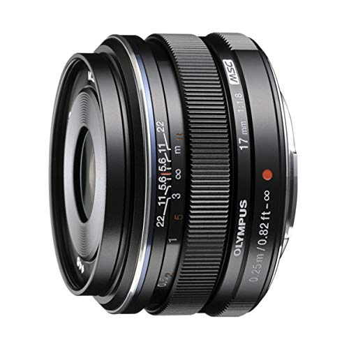 Olympus M.Zuiko Digital 17mm F1.8 Lens, for Micro...