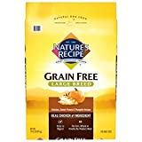 Nature's Recipe Grain Free Large Breed Dry Dog Food, Chicken, Sweet Potato & Pumpkin Recipe, 24 Pound Bag, Easy to Digest