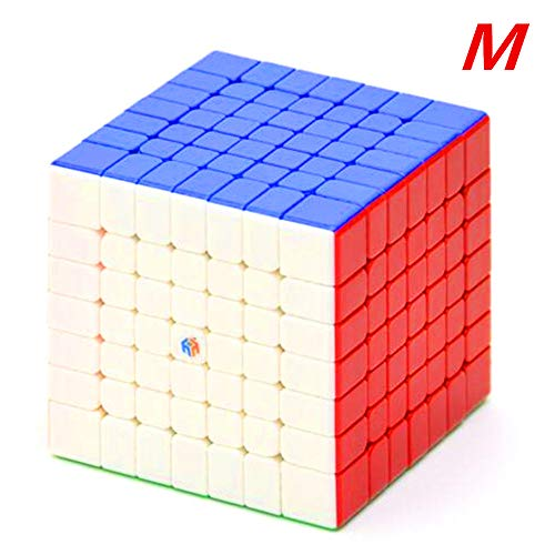 cuberspeed YuXin Hays 7x7 M stickerless Speed Cube Hays Magnetic 7x7x7 Cube