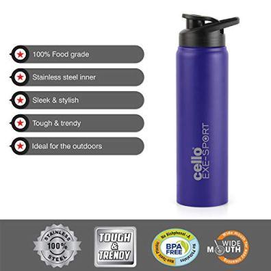 Best Cello Explorer Stainless Steel Water Bottle 1000ml
