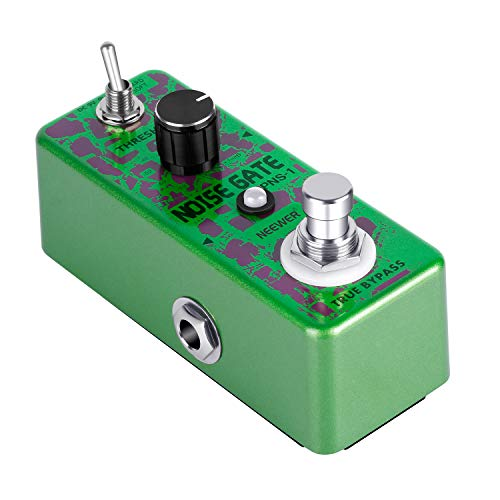 Neewer Noise Killer Guitar Noise Gate Suppressor Effect Pedal with 2 Working Models for Guitar Playing and Guitar Performance in Live Show or Recording Studio