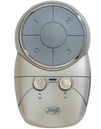 Hunter 99121 Universal 3 Speed Ceiling Fan/Light Remote Control