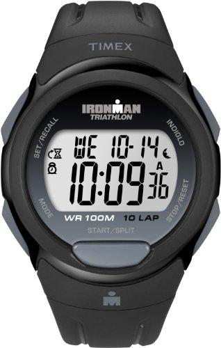 Timex Damen-Armbanduhr Ironman 10 Lap Digital Plastik T5K608SU