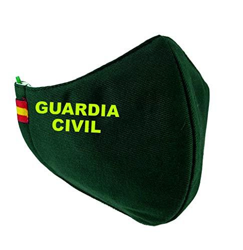 Mascarilla Guardia Civil Bandera España