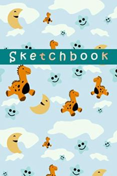 Dinosaur Sketchbook: cute dinosaur sketchbook for kids for Drawing , Doodling Painting and Sketching perfect gift for boys and girls