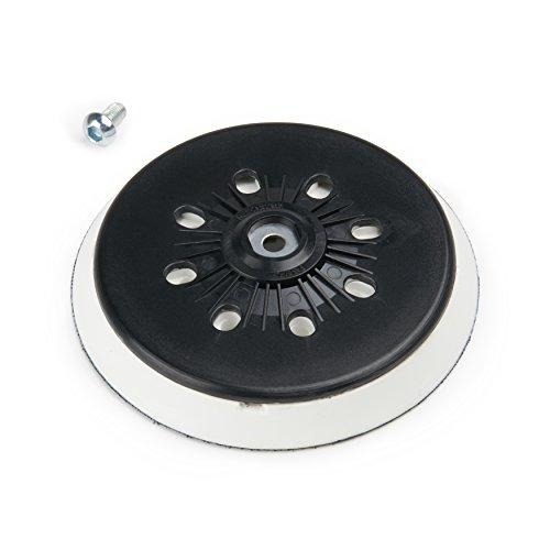 Muela 150mm para lijadora excéntrica Bosch Makita | para abrasivos con velcro, 150mm de diámetro Conector rosca M89agujeros