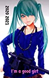Agenda 2020 2021 JOURNALIER Manga jeux vidéos: 280 pages une page par jour de la semaine...