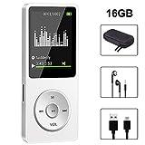 Lecteur MP3 16 Go, Lecteur de Musique Baladeur MP3 Player Haut-Parleur HiFi...