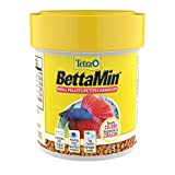 Tetra 77019 Betta Floating Mini Pellets for Bettas, 1.02 oz