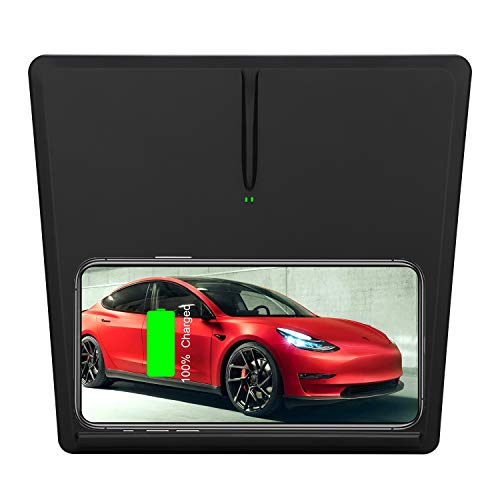 Motorbe Tesla Model 3 Wireless Charger Pad Horizontally Or Vertically Qi Wireless Charging Mat Model 3 Accessories 2020 Upgarde