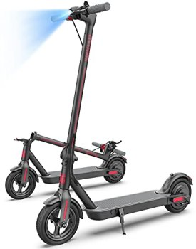 SISIGAD Electric Scooter,8.5-inches Tires,450W Motor Max Speed 19MPH, Long Range Battery,Foldable and Portable Commuting Electric Scooter for Adults
