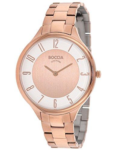 Boccia Titan Damen-Armbanduhr 3240-06