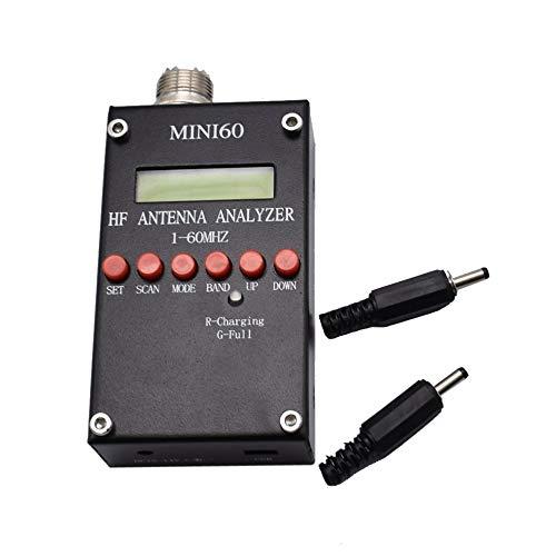 Luani 環境保護Mini60 Sark100 Ad9851ハム無線愛好家のためのAnt SwrアンテナアナライザーテストQ0J0