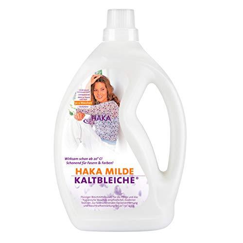 HAKA Milde Kaltbleiche I 2 Liter Bleichmittel auf Sauerstoffbasis I...