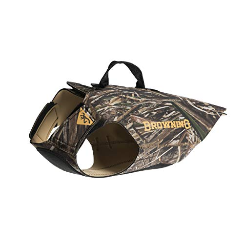 Browning Camo Neoprene Dog Vest   Realtree MAX-5  ...