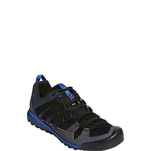 adidas outdoor Terrex Solo Black/Black/Blue Beauty 11.5