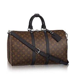 Authentic Louis Vuitton Keepall 45 Bandoulière Handbag Article: M56711 7