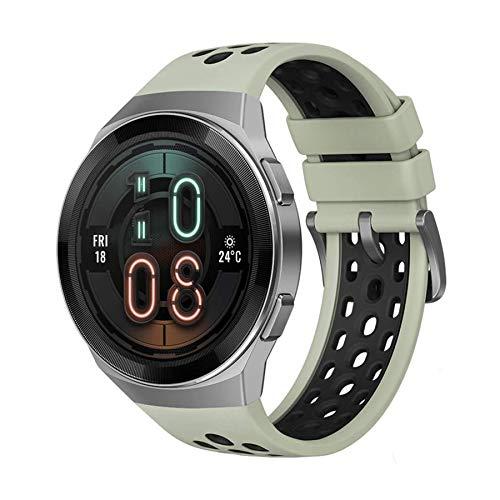 Smartwatch HUAWEI Watch GT 2e, Relógio Inteligente Bluetooth, 46 mm, Sport GPS 14 dias de trabalho Fitness Tracker, Heart Rate Tracker, Monitor de oxigênio no sangue, à prova d'água para Android e iOS (Verde)