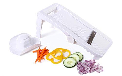 Kitchen + Home Mandoline Slicer - All Purpose Adjustable 5...